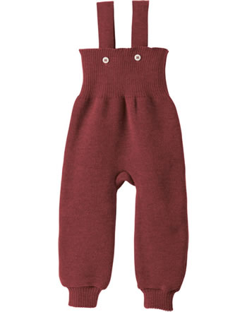 Disana Knitted Trousers GOTS bordeaux 3311398