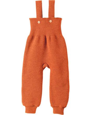 Disana Strick-Trägerhose Schurwolle GOTS orange 3311771