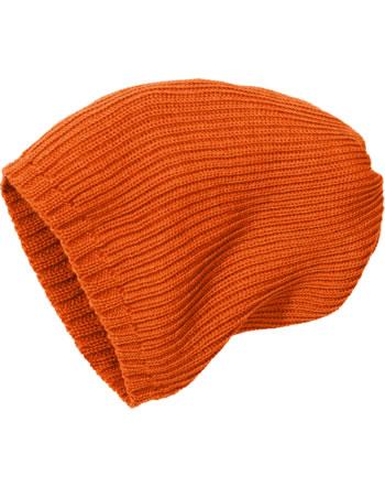 Disana Strickmütze Merinowolle orange 3614771 GOTS