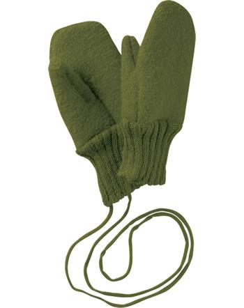 Disana Walk-Handschuhe Fäustlinge Schurwolle GOTS oliv 3821581