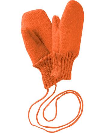 Disana Walk-Handschuhe Fäustlinge Schurwolle GOTS orange 3821771