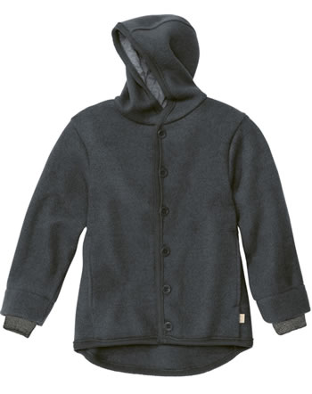 Disana Boiled Woll Jacket GOTS anthracite 32211