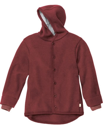 Disana Boiled Woll Jacket GOTS bordeaux 3221398