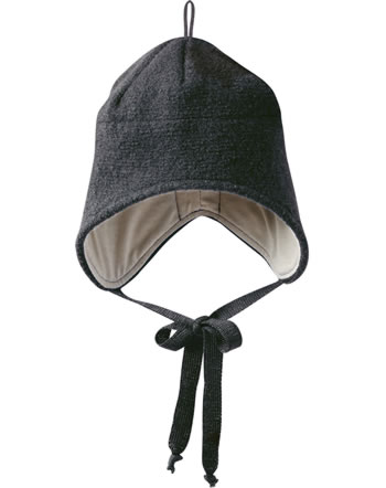Disana Boiled Wool Hat GOTS anthracite 3621199
