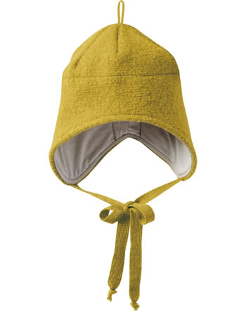 Disana Boiled Wool Hat GOTS curry 3621447