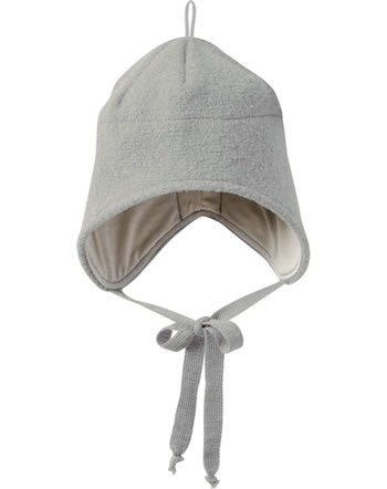 Disana Boiled Wool Hat GOTS grey 3621121