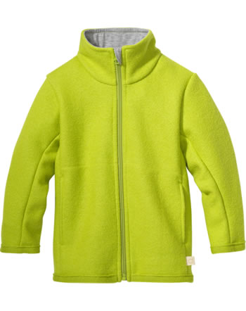 Disana Zipper-Jacket GOTS granny smith 7221521