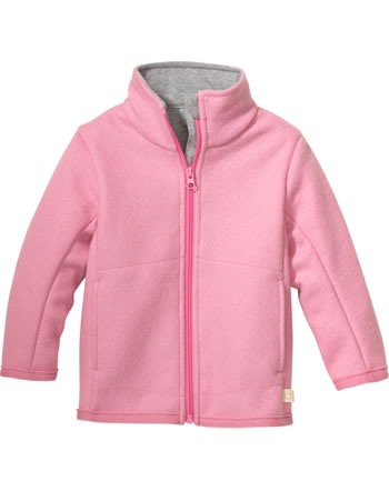 Disana Zipper-Jacket GOTS raspberry yoghurt 7221 315