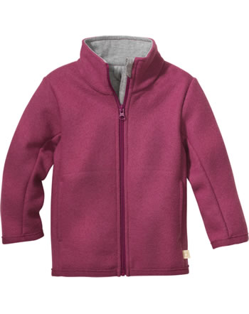 Disana Zipper-Jacket GOTS dry rose 7221 366