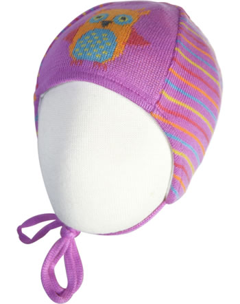 Doell Knitted Inca Hat BUBBLE GUM cyclamen pink 1421715141-2102