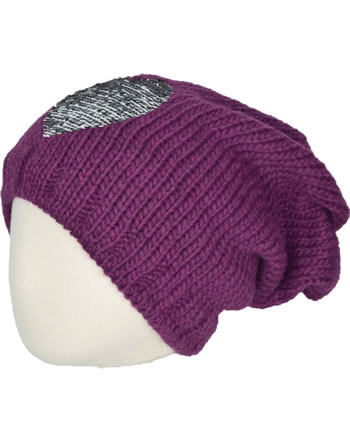 Doell Knitted Hat boysenberry 1828745124-7610