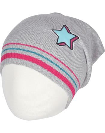 Doell Knitted Hat light gray melange 1748745188-8100