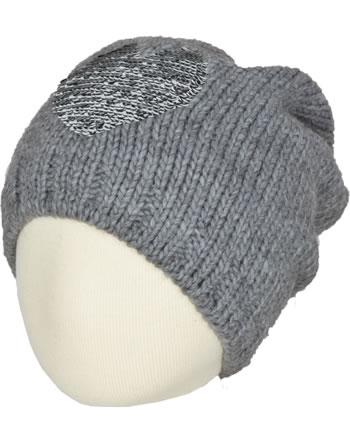 Doell Knitted Hat light gray melange 1828745124-8100