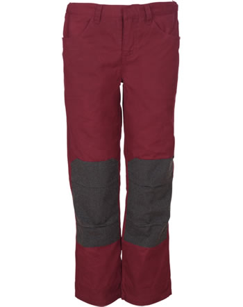 Elkline Outdoor trousers kids darkred 3062075-324000