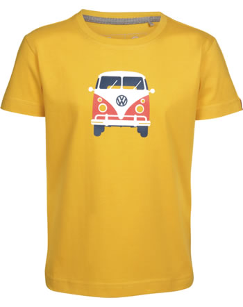 Elkline T-Shirt short sleeve TEEINS Bulli goldenyellow 3041171-461000 GOTS