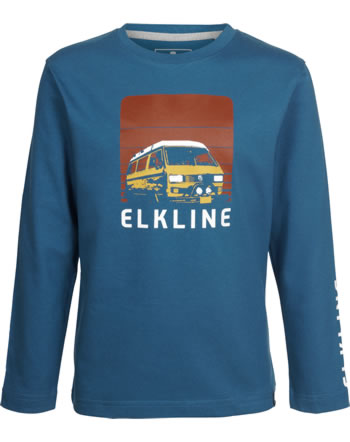 Elkline T-Shirt long sleeve CHALLENGE inkblue 3040093-255000