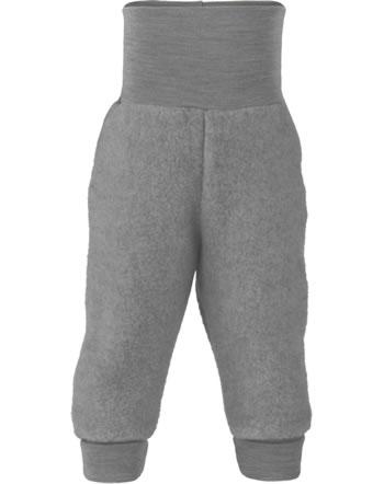 Engel Baby-Bundhose Fleece hellgrau melange 573501-091 IVN-BEST