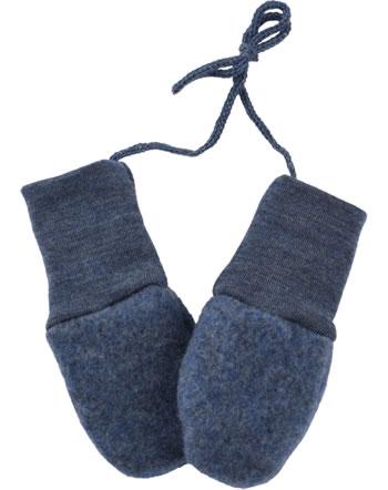 Engel Baby-Fäustel Fleecehandschuhe IVN-BEST blau melange 575570-080
