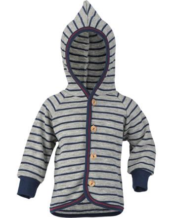 Engel Baby Kapuzen-Jacke Frottee hellgrau mel./marine 525520-933 IVN-BEST