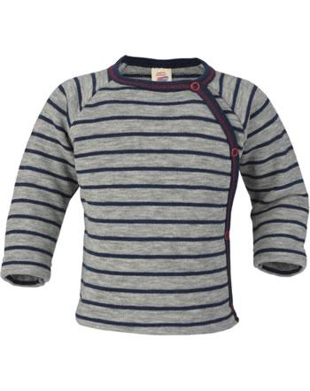 Engel Baby Wickel-Pullover Frottee hellgrau mel./marine 525513-933 IVN-BEST