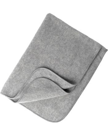 Engel Fleece-Baby-Decke IVN-BEST Schurwolle hellgrau melange 578500-091