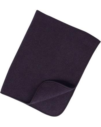 Engel Fleece-Baby-Decke IVN-BEST Schurwolle lila melange 578500-059E