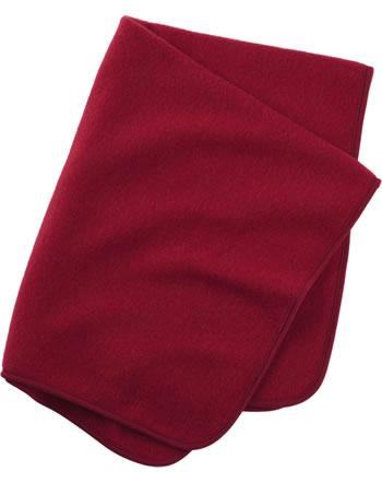 Engel Fleece-Baby-Decke IVN-BEST Schurwolle rot melange 578500-060