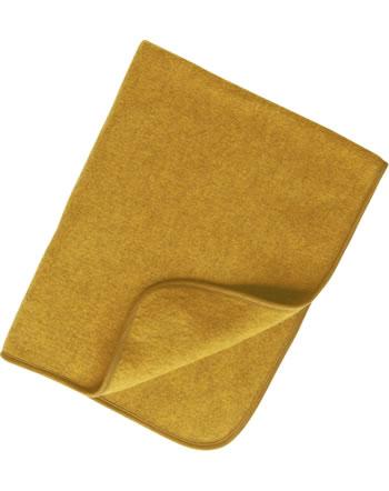 Engel Fleece-Baby-Decke IVN-BEST Schurwolle safran melange 578500-018E