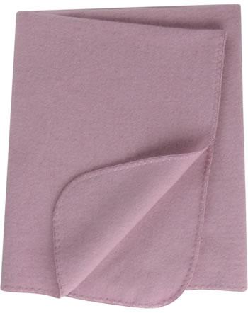 Engel Fleece-Baby-Decke Muschelkante IVN-BEST rosenholz-mel. 578501-051E
