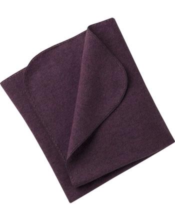 Engel Fleece-Baby-Decke Muschelkante IVN-BEST lila melange 578501-059E