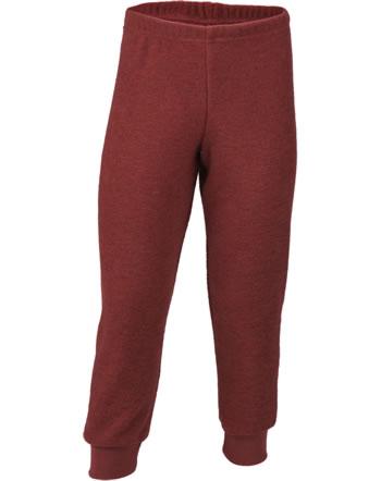 Engel Children Pants long red melange 557600-060 IVN-BEST