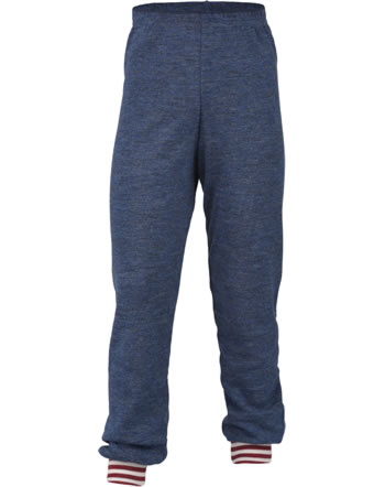 Engel Children Pants long blue melange 407600-080 IVN-BEST