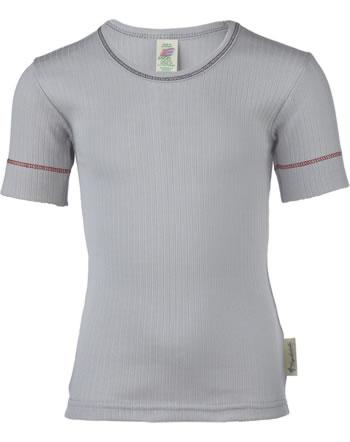 Engel Kinder Shirt/Unterhemd Kurzarm Baumwolle silber 877800-90E IVN-BEST