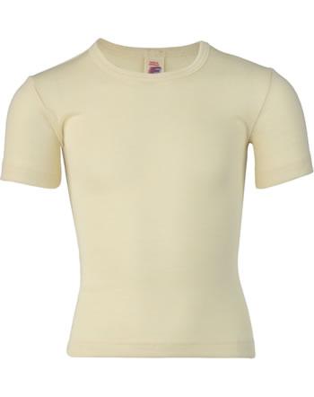 Engel Kinder Shirt/Unterhemd Kurzarm Wolle natur 407800-01 IVN-Best