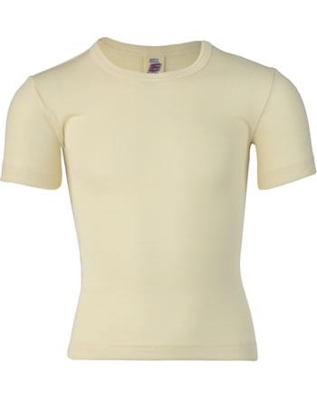 Engel Kinder Shirt/Unterhemd Kurzarm Wolle/Seide GOTS natur 707800-01