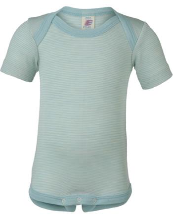 Engel Baby Body short sleeve glacier/natural 729000-3001E GOTS