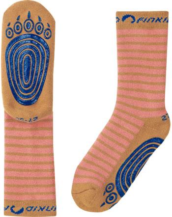 Finkid ABS-Stopper Socken TAPSUT rose/cinnamon 1652002-206416