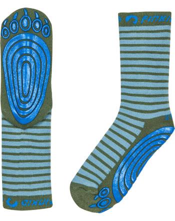 Finkid ABS-Stopper Socken TAPSUT smoke blue/bronze1652005-152333