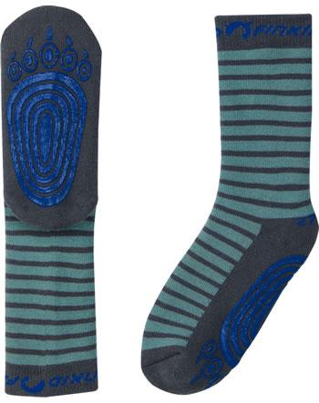Finkid ABS-Stopper Socken TAPSUT trellis/graphit 1652002-158412