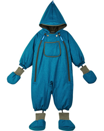 Finkid Baby Winter-Overall HALI ICE seaport/ivy green 1212004-102332