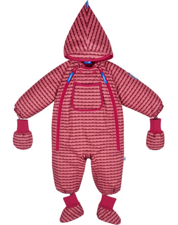 Finkid Baby Winter-Overall HALI pebbles rose/persian red 1213001-256247