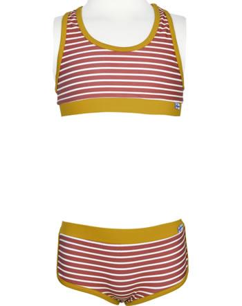 Finkid Bikini LUOTO LSF 50+ rose/offwhite 1712003-206406