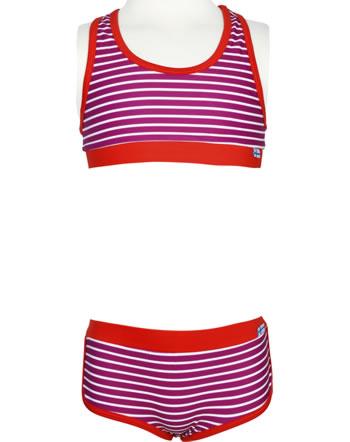 Finkid Bikini LUOTO raspberry/offwhite 1712002-222406