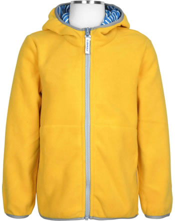 Finkid Essentials Fleecejacket Zip in PAUKKU yellow storm 1121002-607542