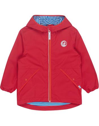 Finkid Essentials Outdoor Jacke Zip-In PUUSKIAINEN red/grenadine 3023082-200244