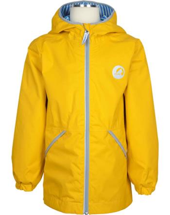 Finkid Essentials Outdoor Jacke Zip-In PUUSKIAINEN yellow/storm 1111003-607542