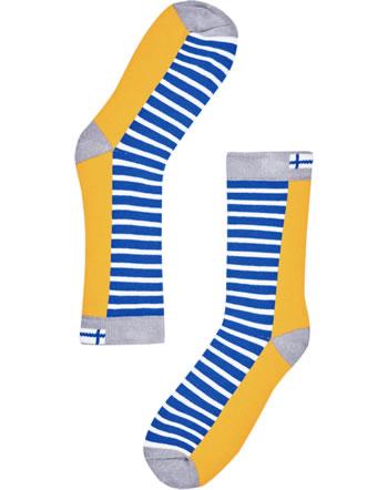 Finkid Essentials Socken SUKAT yellow/storm 1651003-607542