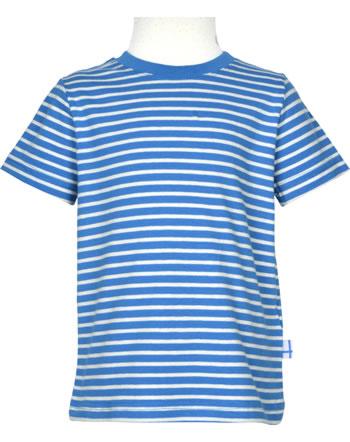Finkid Essentials T-Shirt Kurzarm SUPI blue/offwhite 1541003-103406