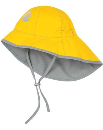 Finkid Essentials Wetterfester Südwester Hut TIHKU yellow/storm 1611006-607542