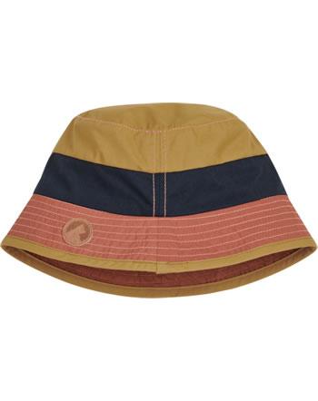 Finkid Fischerhut Bucket Hat LASSE LSF 50+ golden yellow/navy 1622024-609100